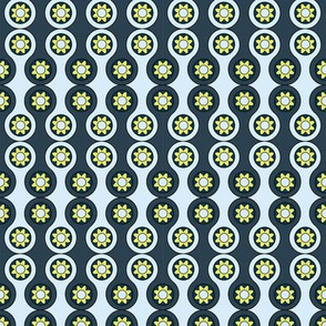 flower circles pattern
