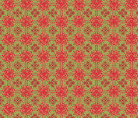 pixelateplus_red_border_6b_pa_pinwheel_nas_leaves_45_Picnik_collage_preview_preview fabric by khowardquilts on Spoonflower - custom fabric