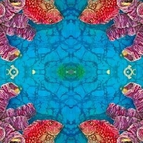 RED SNAPPER REEF by SUE DUDA