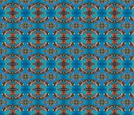 CLOWN TRIGGERFISH 2 by SUE DUDA fabric by suedudadesigns on Spoonflower - custom fabric
