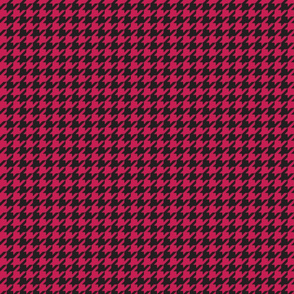 Houndstooth - Cherry Red