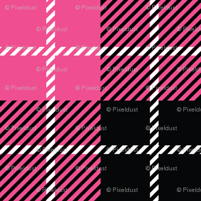 Pirate Plaid - Magenta