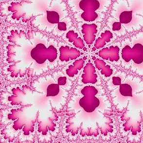 pinky pink fractal