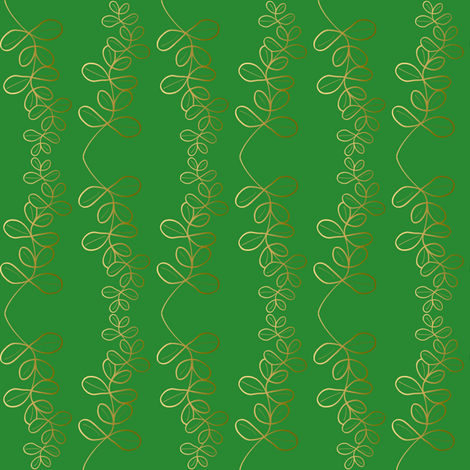 Garland Glitz - Crocodile Green fabric by inscribed_here on Spoonflower - custom fabric