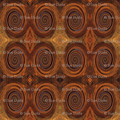 RUST TILED by SUE DUDA