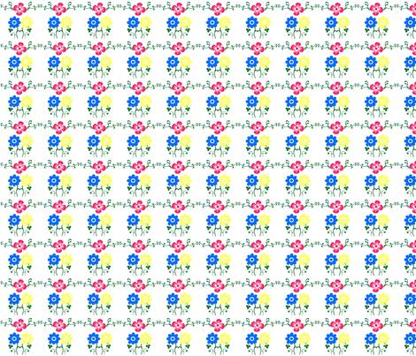 Flower Fun fabric by anacskie on Spoonflower - custom fabric