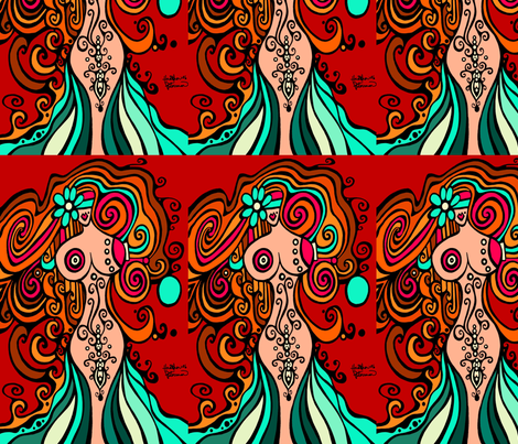 KIM fabric by heatherpeterman on Spoonflower - custom fabric