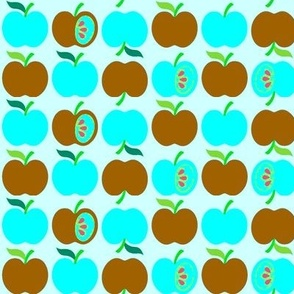 An Apple a Day - purple