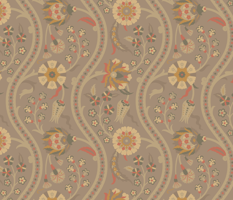 Serpentine592a fabric by muhlenkott on Spoonflower - custom fabric