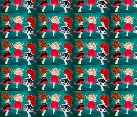 The_Glowing_Ta_Ta_Dolls fabric by cathycomora on Spoonflower - custom fabric