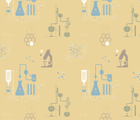 Science 1a fabric by muhlenkott on Spoonflower - custom fabric