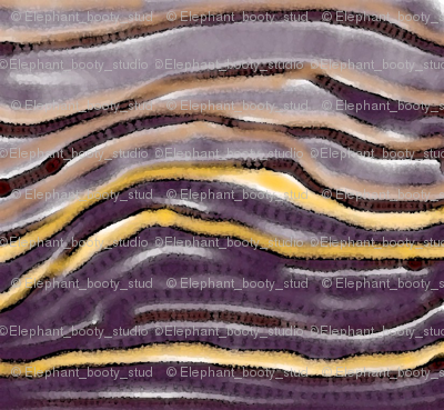 Purple Rock Striation