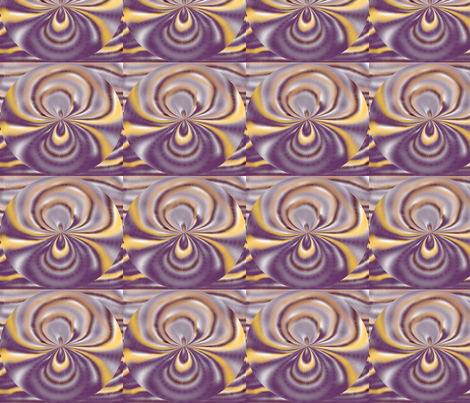 purplerock_blossom fabric by elephant_booty_studio on Spoonflower - custom fabric
