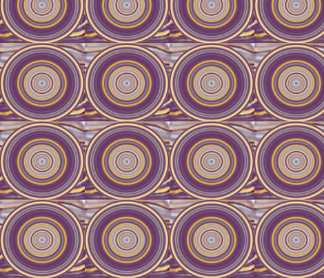 purplerock_circles fabric by elephant_booty_studio on Spoonflower - custom fabric