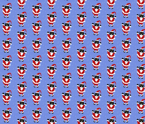 Santy Claws fabric by disgusted_cats on Spoonflower - custom fabric