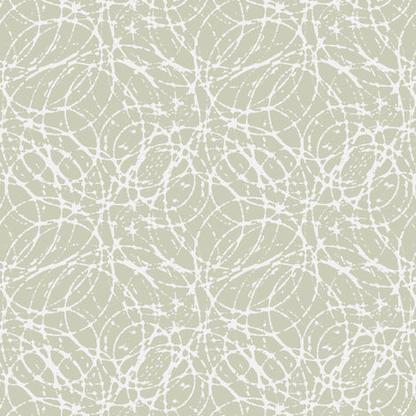 Ink Bubbles - Silver Birch fabric by kristopherk on Spoonflower - custom fabric