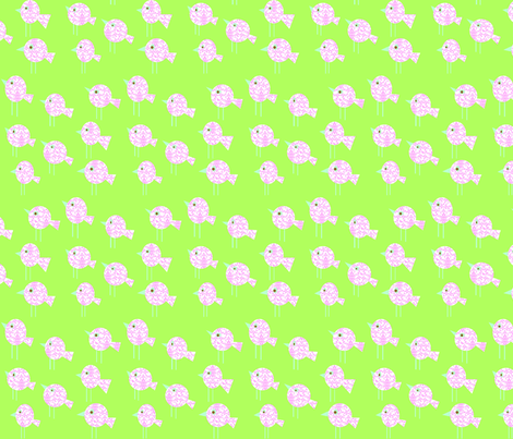 damask_birdies_-_green_colorway_copy fabric by petunias on Spoonflower - custom fabric