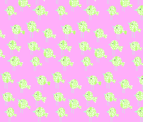 damask_birdies_-_pink_colorway_copy fabric by petunias on Spoonflower - custom fabric