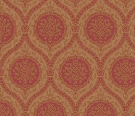 Serpentine1a fabric by muhlenkott on Spoonflower - custom fabric