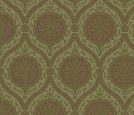 Serpentine 1b fabric by muhlenkott on Spoonflower - custom fabric