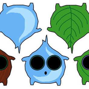 Forest Sprites (Mini Dolls)