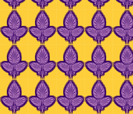 large_leaf_2 fabric by elephant_booty_studio on Spoonflower - custom fabric