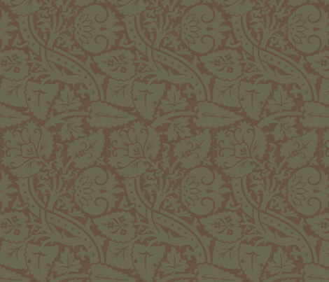 Damask6b fabric by muhlenkott on Spoonflower - custom fabric