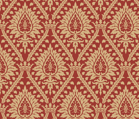 Damask2a fabric by muhlenkott on Spoonflower - custom fabric