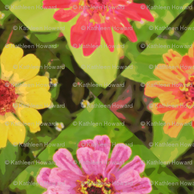 4_zinnias_45_poster_Picnik_collage