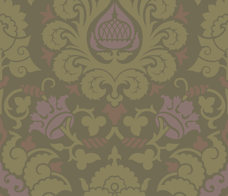 Damask4a fabric by muhlenkott on Spoonflower - custom fabric