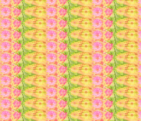 24 circle_splash_4_zinnias_row_Picnik_collage-ch fabric by khowardquilts on Spoonflower - custom fabric