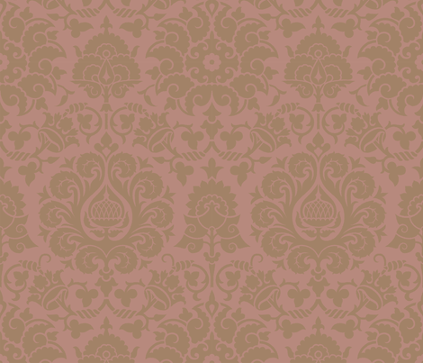 Damask 4d fabric by muhlenkott on Spoonflower - custom fabric