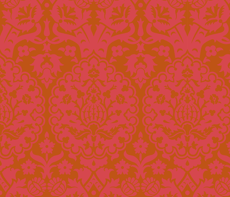 Damask 5d fabric by muhlenkott on Spoonflower - custom fabric