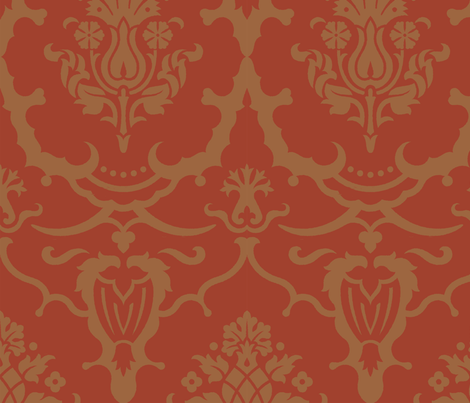 Damask7b fabric by muhlenkott on Spoonflower - custom fabric