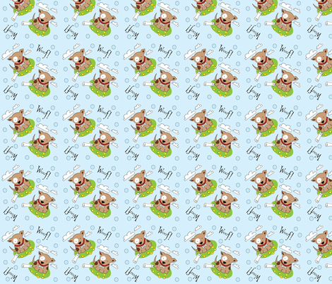 puppywuppy_fabric fabric by kimsiebold on Spoonflower - custom fabric