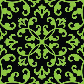 Contessa Damask - Easy Ivy