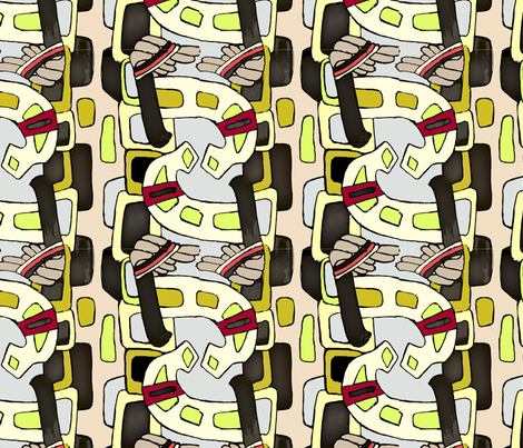 ethnic ornament fabric by smalty on Spoonflower - custom fabric