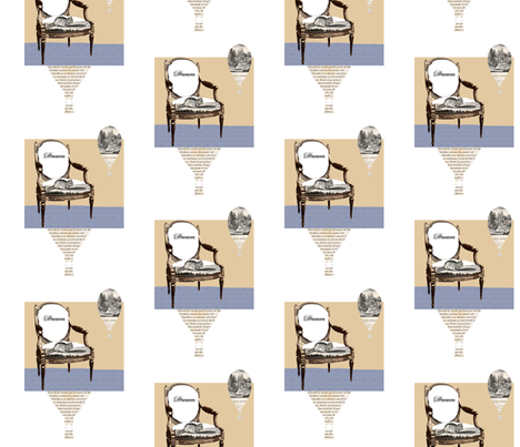 Dream Chair fabric by karenharveycox on Spoonflower - custom fabric
