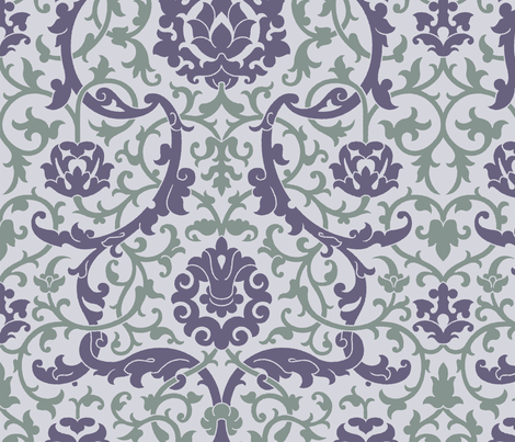 Serpentine2f fabric by muhlenkott on Spoonflower - custom fabric