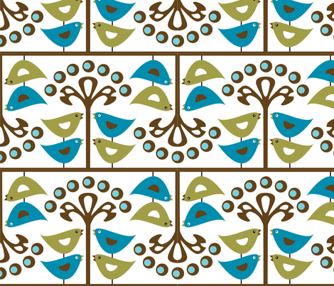 givingtree_tweets fabric by pixeldust on Spoonflower - custom fabric