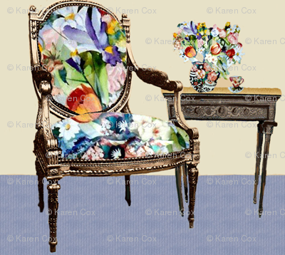 Tulip Tea Chair Companion