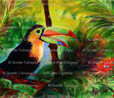 Toucan by Ginette - Focus On Nature Series