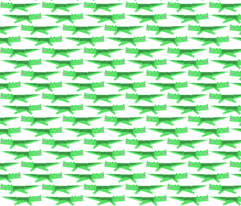 alligator fabric by anda on Spoonflower - custom fabric