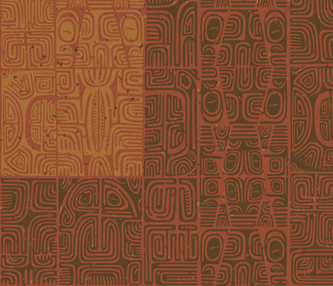 Marquesan1a fabric by muhlenkott on Spoonflower - custom fabric