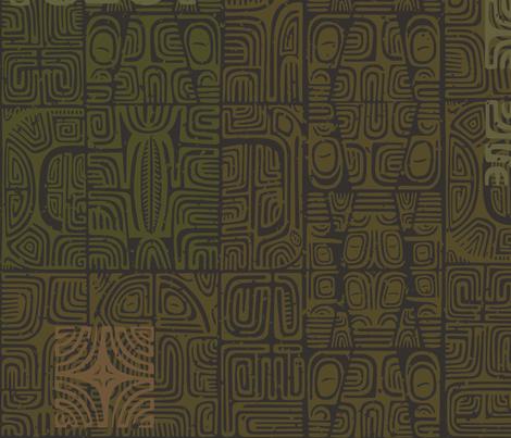 Marquesan 2a fabric by muhlenkott on Spoonflower - custom fabric