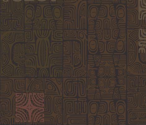 Marquesan 2b fabric by muhlenkott on Spoonflower - custom fabric