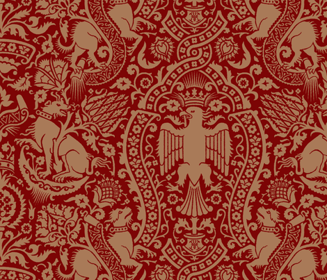 Damask3a fabric by muhlenkott on Spoonflower - custom fabric