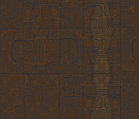 Marquesan4a fabric by muhlenkott on Spoonflower - custom fabric