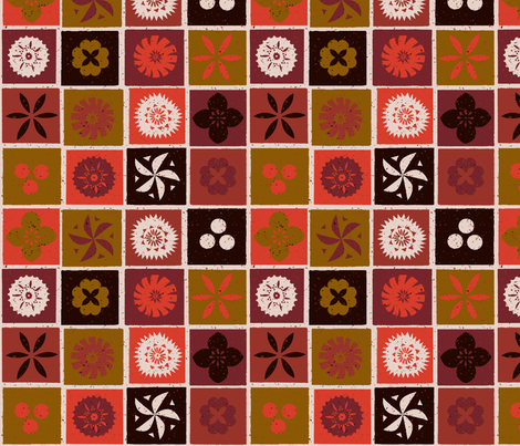Fijian Tapa 1f fabric by muhlenkott on Spoonflower - custom fabric
