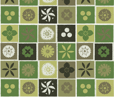 Fijian Tapa 1g fabric by muhlenkott on Spoonflower - custom fabric
